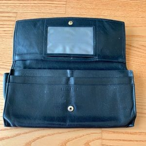 Navy Blue Leather Wallet by Nordstrom